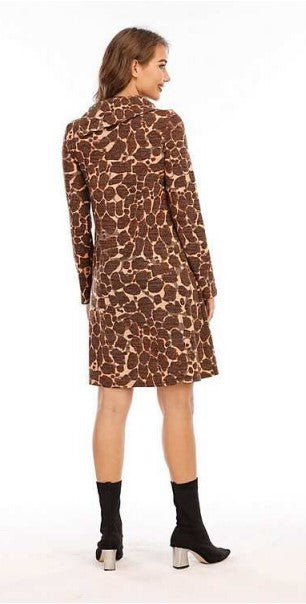 Winter Safari Sweater Dress