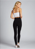 Hi-Waisted Bamboo Leggings: Black : One Size