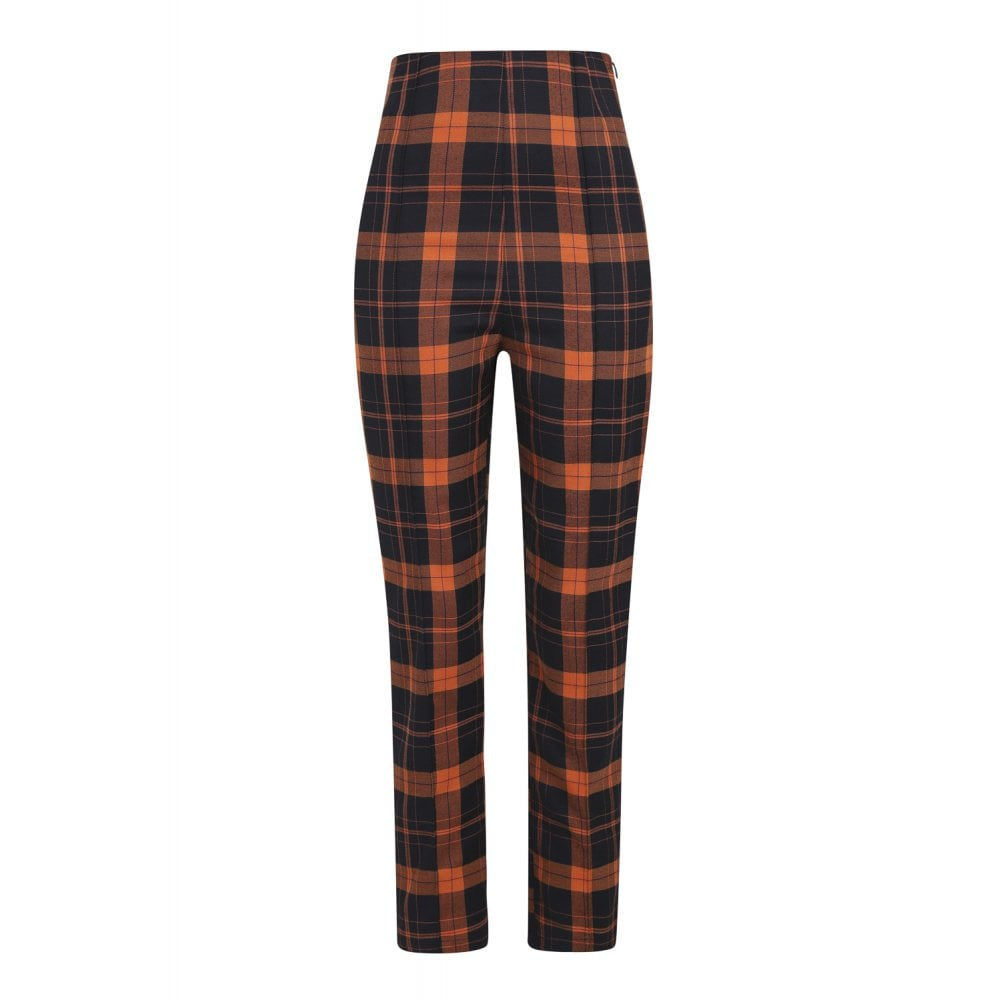 Pumpkin Spiced Plaid Pants