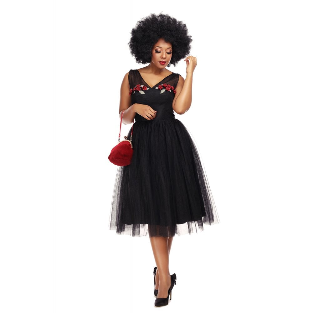 Claudette Tulle Dress