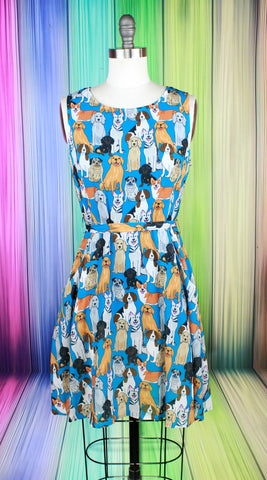 Walk Like An Egyptian Cat Dress