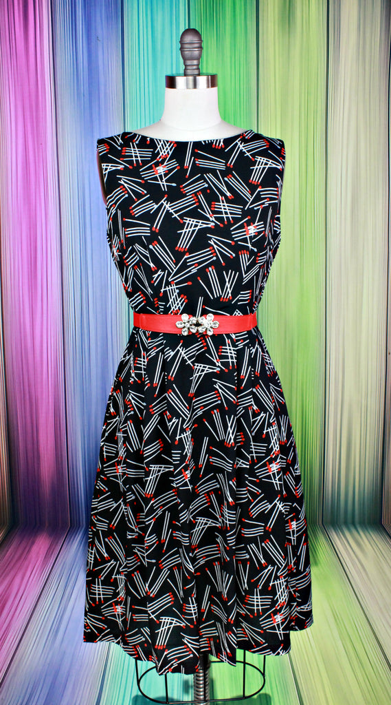Set The World On Fire Dress