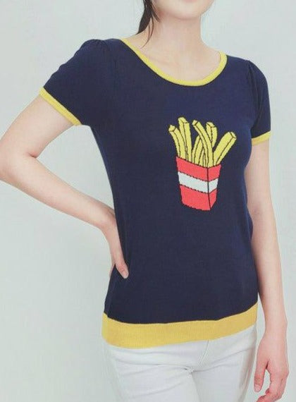 French Fry T-Shirt Sweater