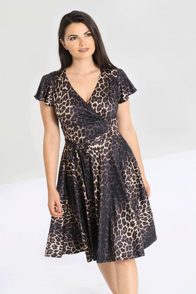 Eartha Kitt Leopard Dress