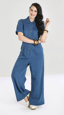 Time-Machine Jean Jumpsuit