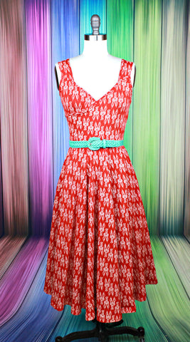 Swish Into Spring Dress