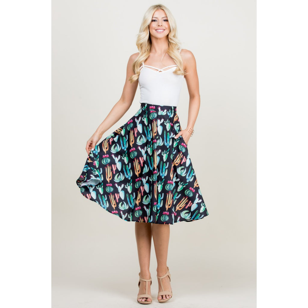 Succulents Skirt