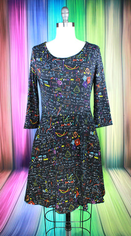 Magic Crystals Sweater Dress