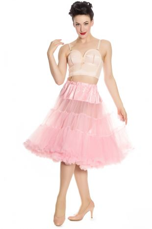 Soft & Fluffy Crinoline: Dolly Pink