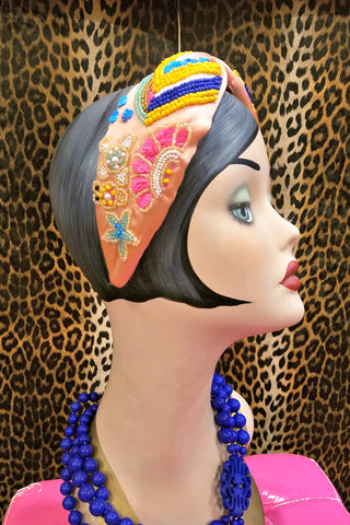 Beautiful Beaded Headbands: Toucan