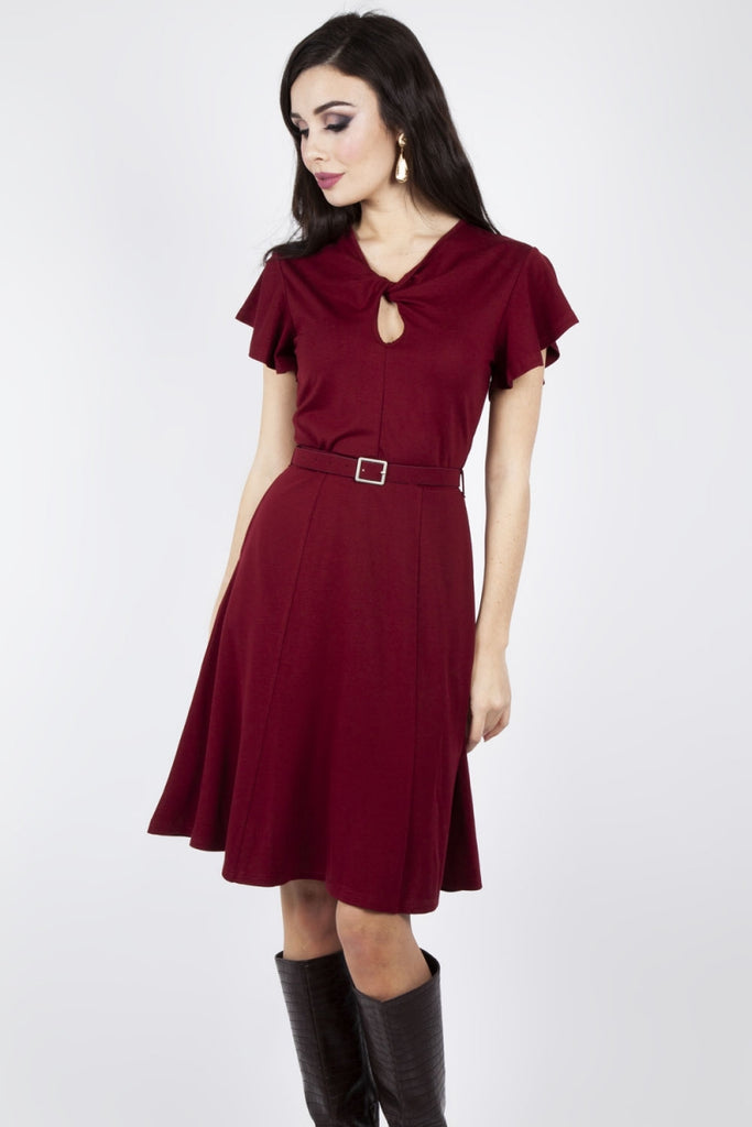 Tempranillo Twist Dress