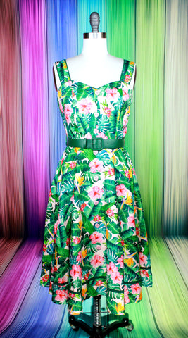 Heron Happiness Dress