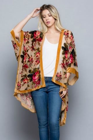 Floral Gypsy Blouse