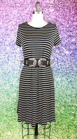 Moon Phases Swing Dress