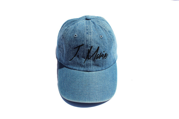 Denim J. Marie Dad Hat