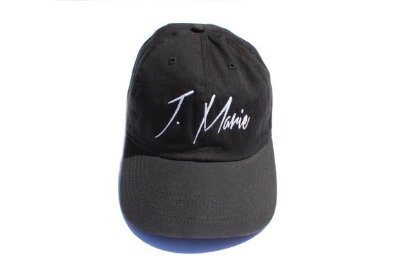 Black J. Marie Dad Hat