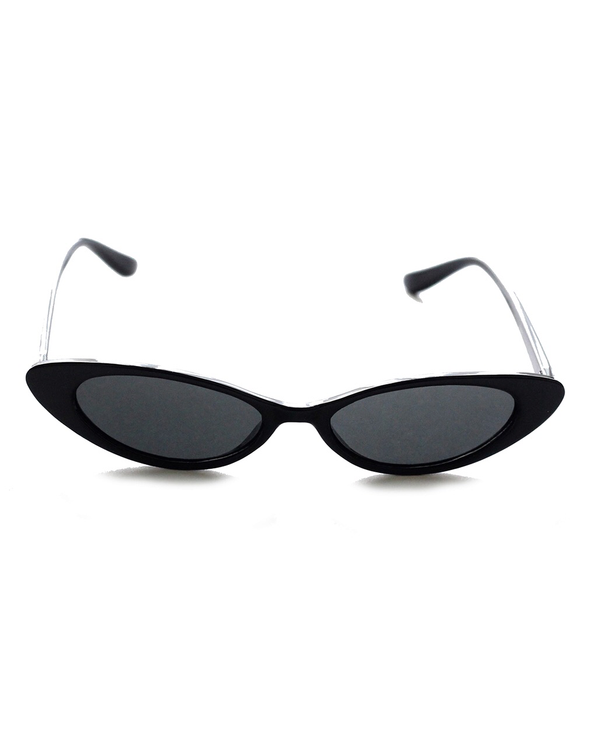 Classic Black Cat-Eye Sunglasses - J.Marie Swimwear