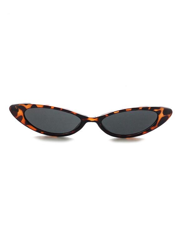 Tortoise Shell Cat-Eye Sunglasses - J.Marie Swimwear