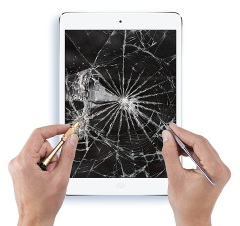 fix broken screen ipad 2