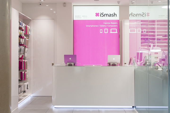 iSmash repair store in Bluewater