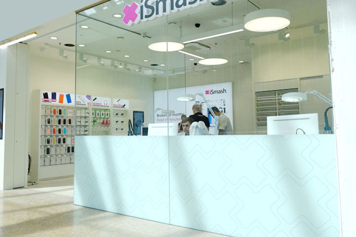 ismash store in Sheffield specialising in phone screen repairs