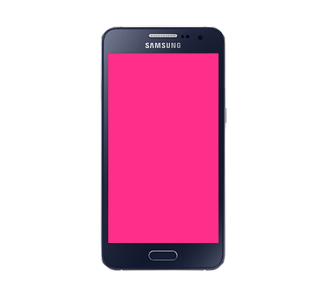 Glass Screen Repair - Samsung Galaxy A3 (2015) Black