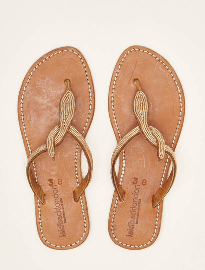 Lana Flat Mid Brown Copper