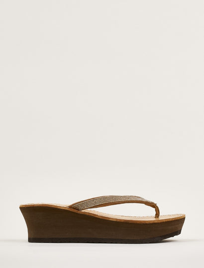 Seri Wedge Light Brown Copper