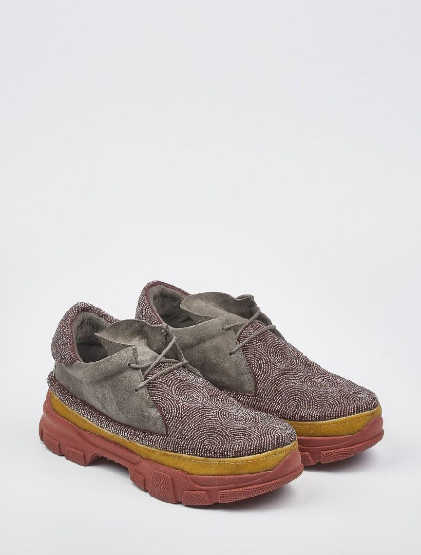 Wintun Beaded 2.0 Sneaker Grey Suede