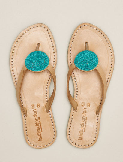 Doli SSG Leather Sandal Emerald