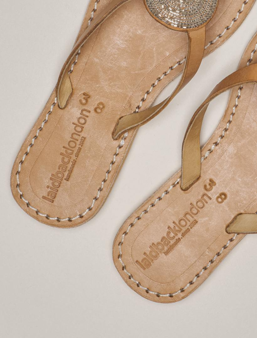 Doli Flat Light Brown Silver