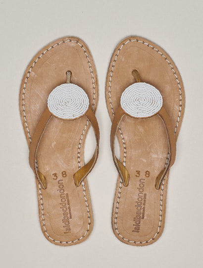 Doli Flat Light Brown White