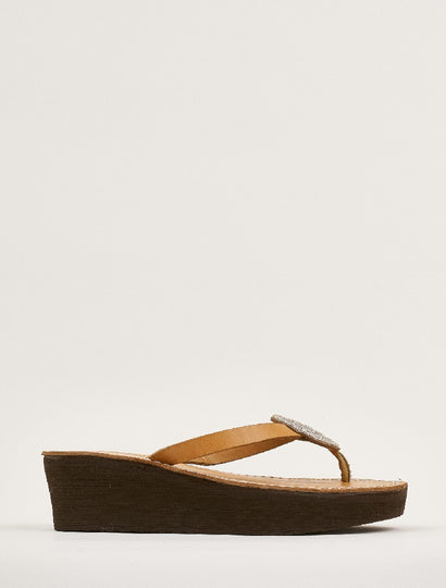 Doli Wedge Light Brown Silver