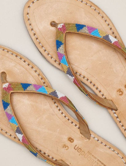 Seri SSB Leather Sandal Retro