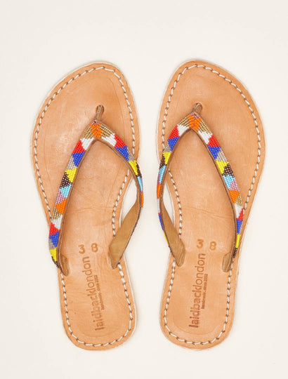Seri Flat Light Brown Tribal