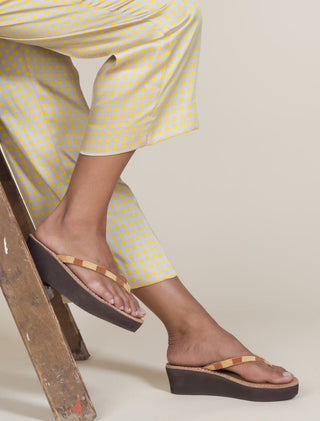 Seri Wedge Light Brown Rust Mix