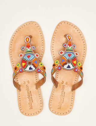 Simba Flat Light Brown Tribal