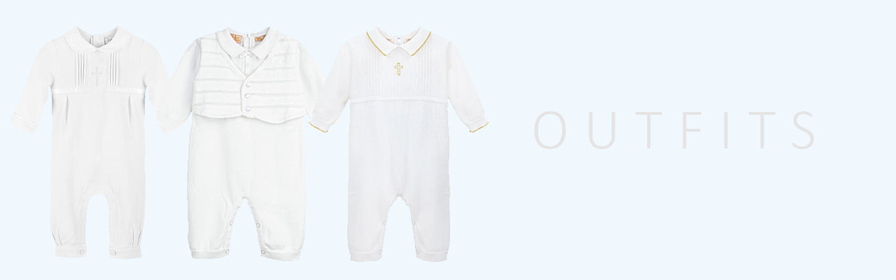 Little Boys Christening Special Occasion Baptism Outfits