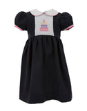 Birthday Cake Short Sleeve Dress, , Carriage Boutique, Imagewear