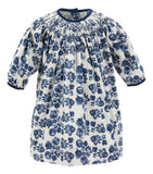 Fall Florals Long Sleeve Corduroy Bishop Dress, , Carriage Boutique, Imagewear