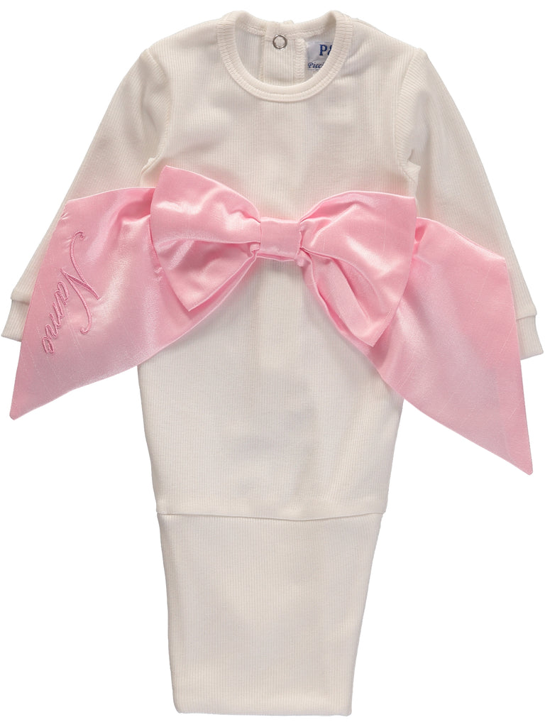 Bow Sack Pink, , Carriage Boutique, Imagewear