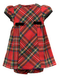 Traditional Tartan Bow Dress, , Carriage Boutique, Imagewear