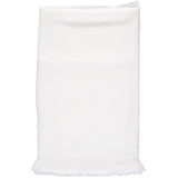 Julius Berger Simple White Soft Blanket, , Carriage Boutique, Imagewear