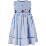 Freedom Boats  Dress - Blue - Newborn & Youth