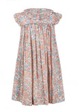 Flashy Floral Dress - Orange, , Carriage Boutique, Imagewear