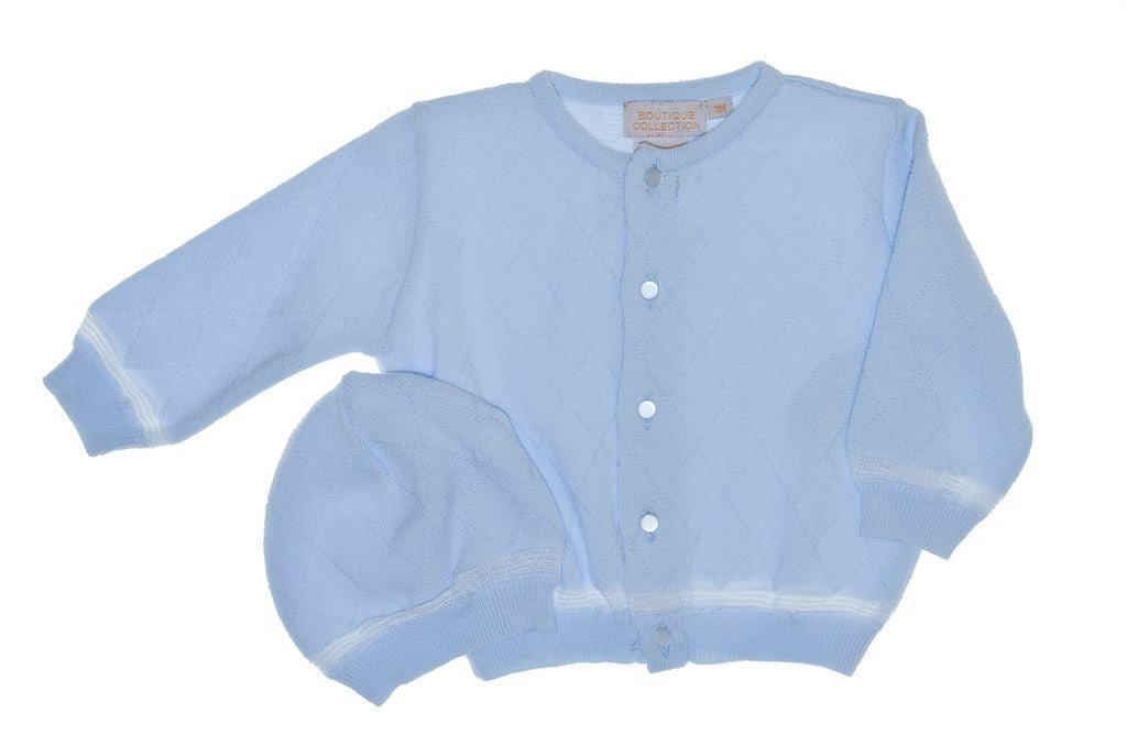 Boys Sweaters Diamond + Hat, , Carriage Boutique, Imagewear