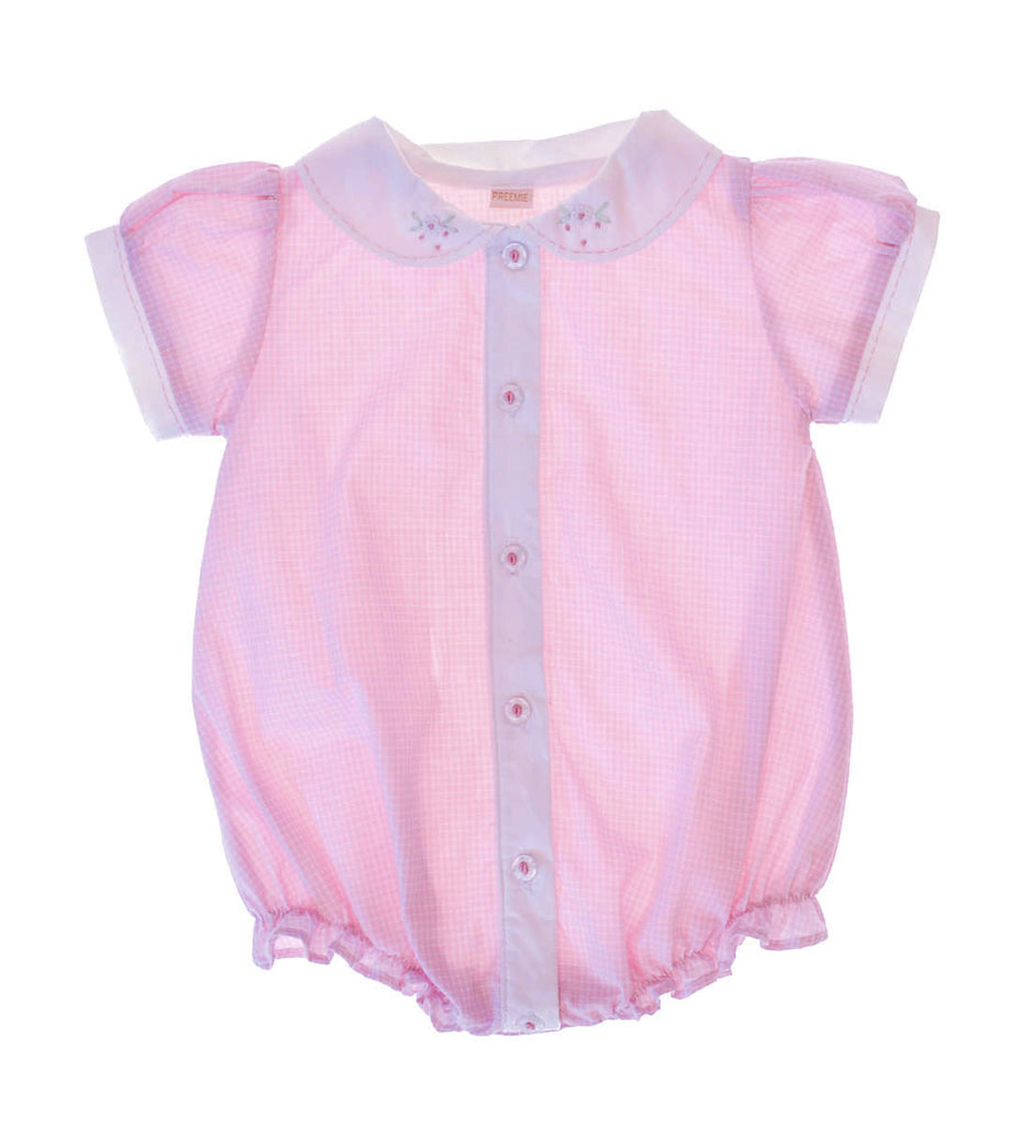 Girls Bubble Button Front, , Carriage Boutique, Imagewear