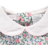 Hand-Smocked Short Sleeve Dress with Bloomers- Newborn & Infant