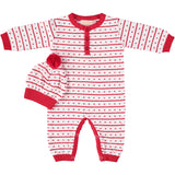 STRIPE SANTA LONGALL- White, , Boutique Collection, Imagewear