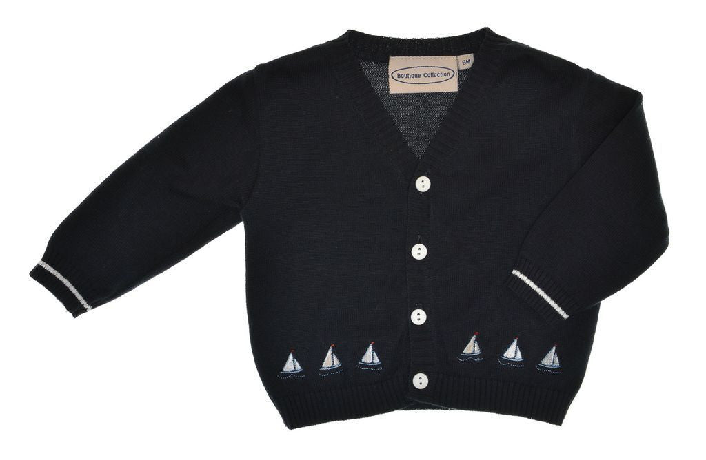 Boys Sweaters Sailing Ships, , Carriage Boutique, Imagewear